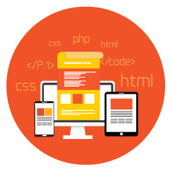custom-software-development-orange-circle
